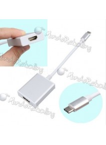 Adaptador Usb-c 3.1 Type C A Hdmi Macbook Chromebook Tablet
