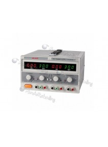 Fuente de Poder Digital / Ele-Tech / Triple / Display Doble / 0-30V/3A, 5VDC/3A