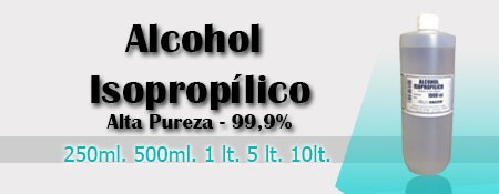 Alcohol Isopropílico