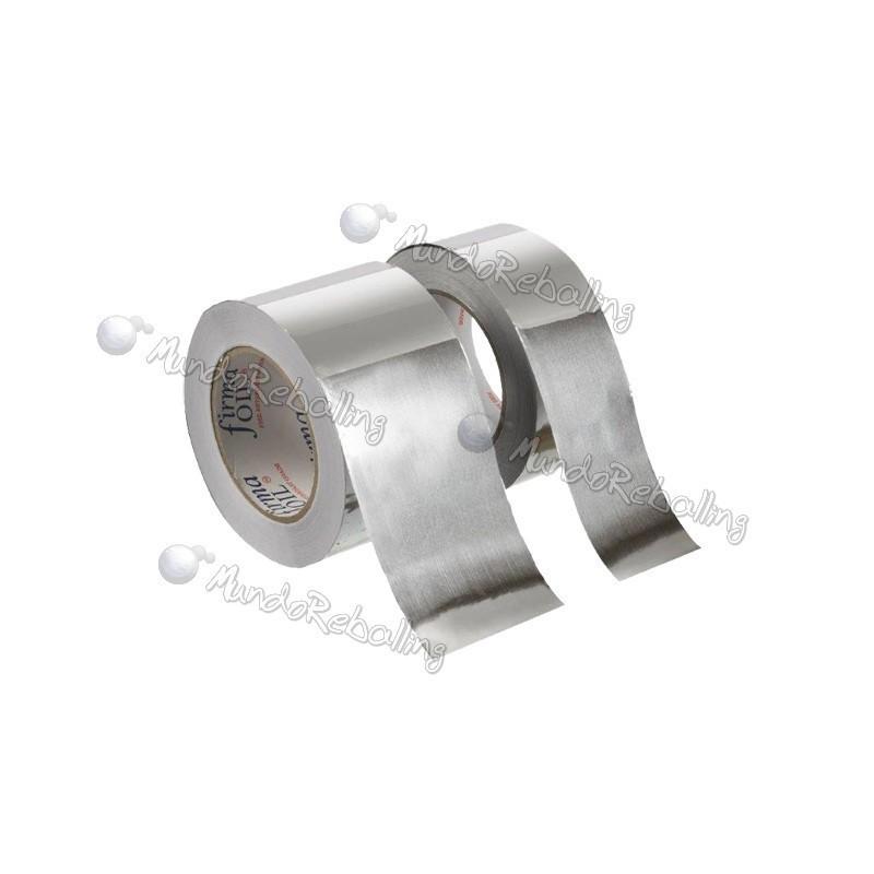 Cinta de Aluminio (Foil Tape) 4cm x 40m / Resistente a 400C