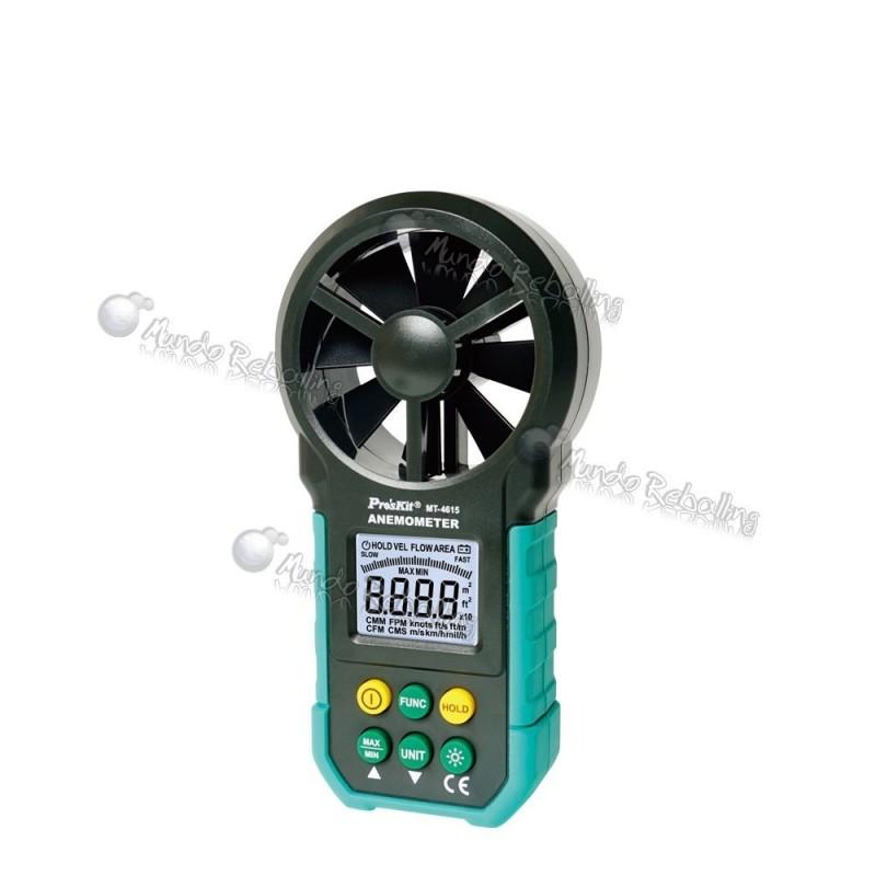 Anemometro Pro's Kit / MT-4615 / 0.8~40m/s