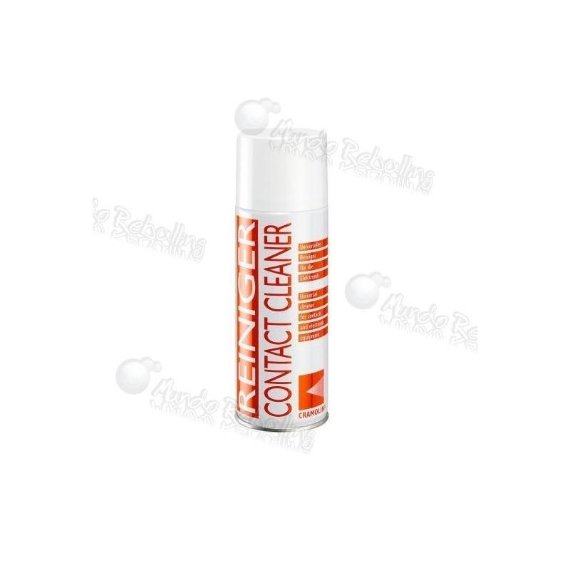 Cramolin Contact Cleaner / 400cc / Potente Aerosol Limpiador de Contactos Eléctricos