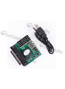 Tester Placas madres de PC / Slot USB + LPT / Codigos POST