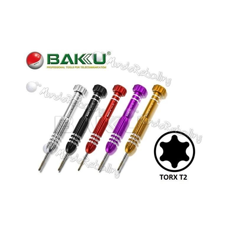 Destornillador TORX T2 / BAKU BK-350 / Alta precision y Resistencia a la Torsion