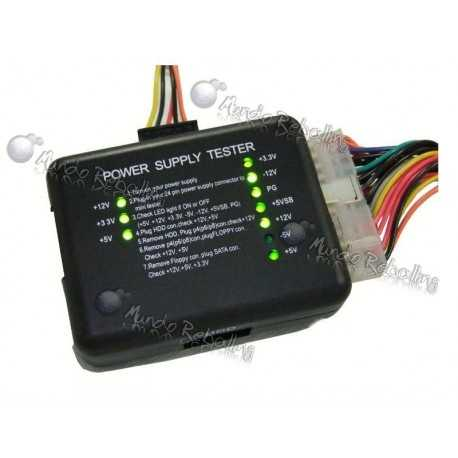 Tester o Probador de Fuentes de Poder (Power Supply Tester)