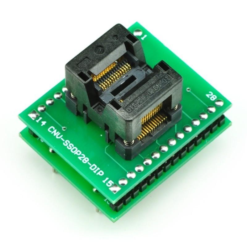 Adaptador TSSOP28 a DIP28