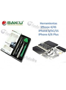 Baku Set Herramientas iPhone 4/4S/5/5C/5S/6/6 Plus / BK-7285